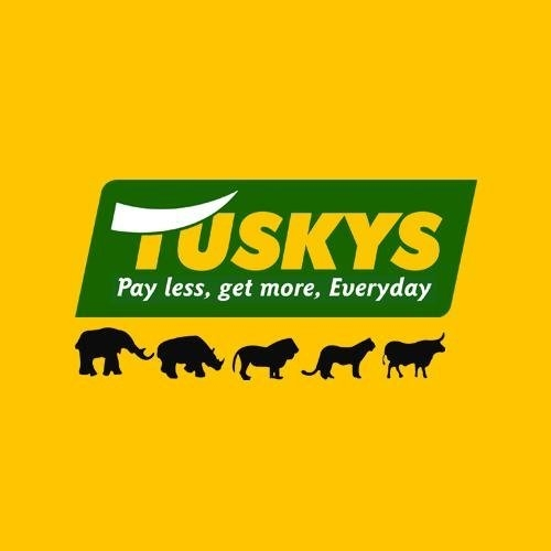 Image result for tuskys logo