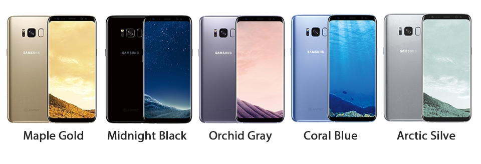 Samsung Galaxy S8 Plus S8+ mobile phone 6.2-Inch 4GB RAM 64GB ROM 12MP+8MP Smartphone gold 2