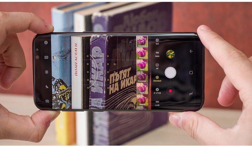 Samsung Galaxy S8 Plus S8+ mobile phone 6.2-Inch 4GB RAM 64GB ROM 12MP+8MP Smartphone gold 5