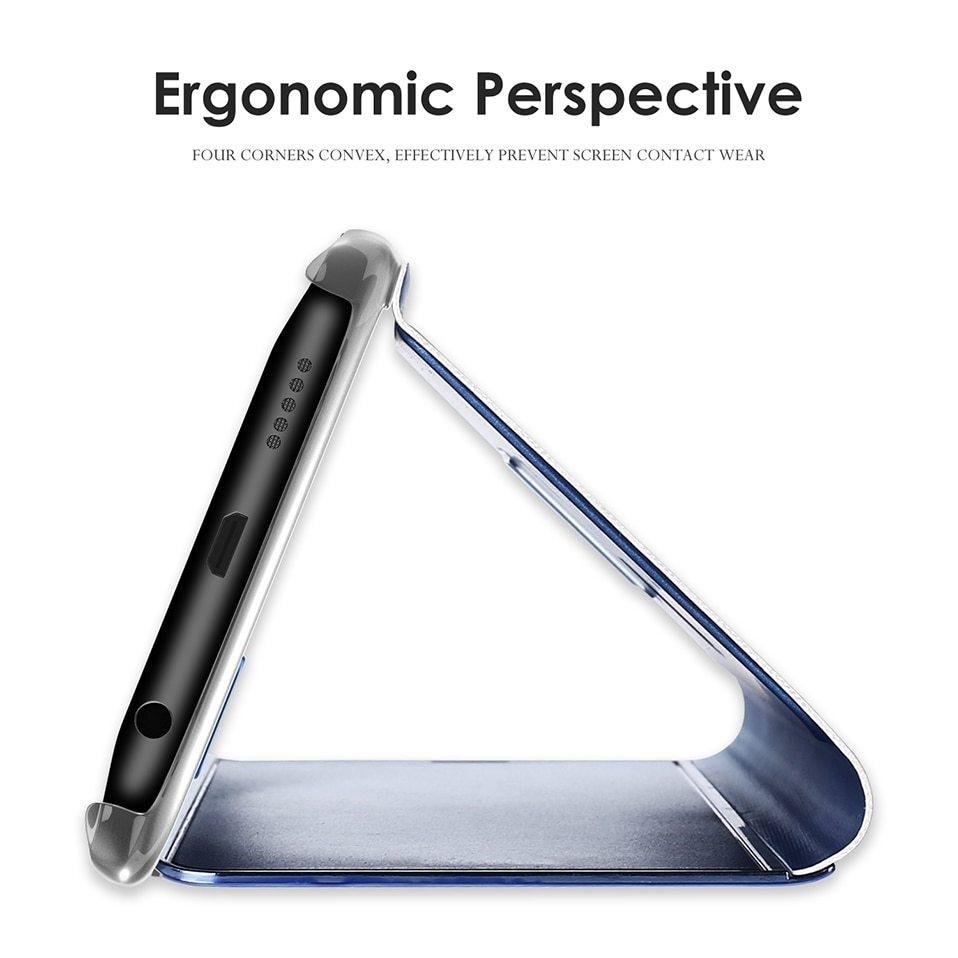 Mirror Flip Case For Samsung s8 s9 plus 04