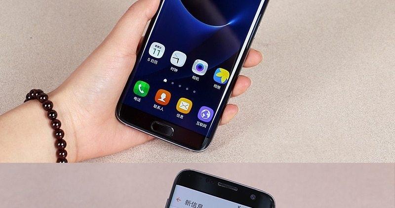 "Samsung Galaxy S7 Edge LTE Mobile Phone 5.5"" 4GB RAM 32GB ROM 12.0MP Camera NFC Smartphone black 9"