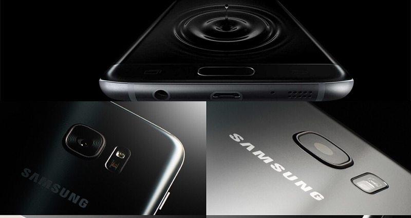 "Samsung Galaxy S7 Edge LTE Mobile Phone 5.5"" 4GB RAM 32GB ROM 12.0MP Camera NFC Smartphone black 7"