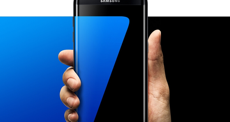 "Samsung Galaxy S7 Edge LTE Mobile Phone 5.5"" 4GB RAM 32GB ROM 12.0MP Camera NFC Smartphone black 2"