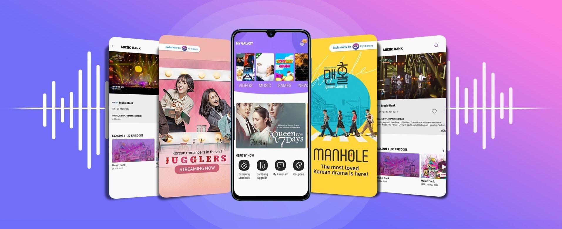 Galaxy A70 - My Galaxy App