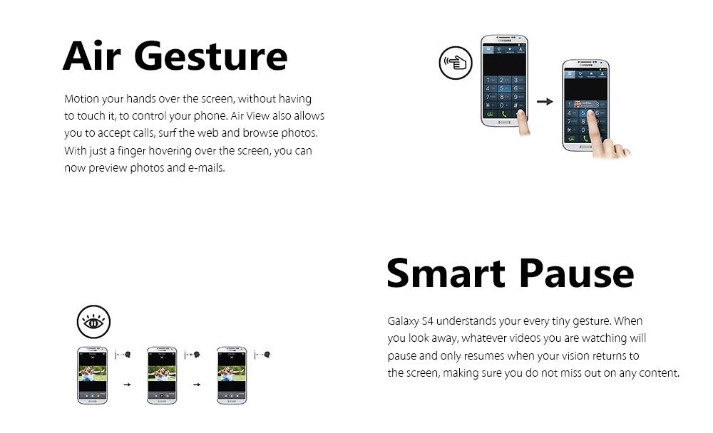 Samsung Galaxy S4 GT - i9500  Smartphone 2GB RAM 16GB ROM 5.0 inch