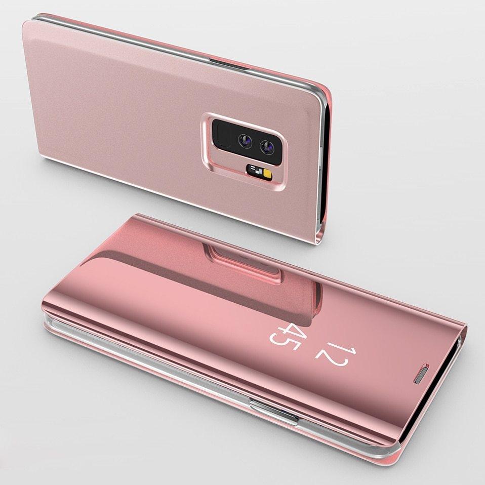 Mirror Flip Case For Samsung s8 s9 plus 11