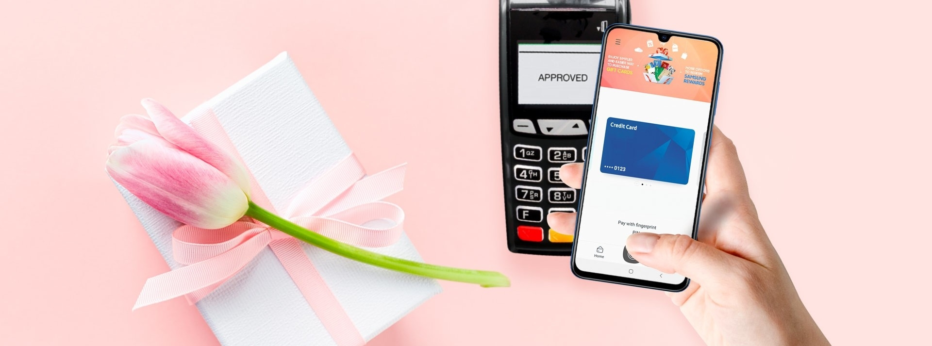 Samsung Galaxy A70 Samsung Pay