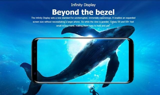 Buy Samsung Galaxy S8 58 64gb 4gb Ram 12 Mp Camera 4g