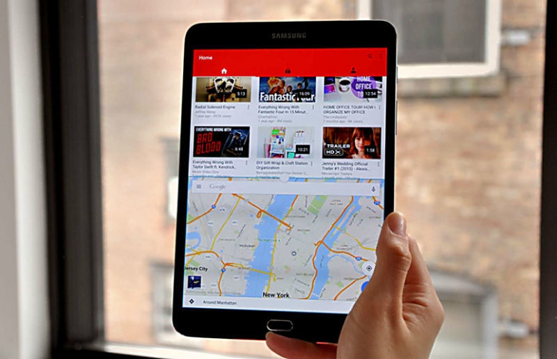 Image result for Galaxy Tab A  Multi-tasking