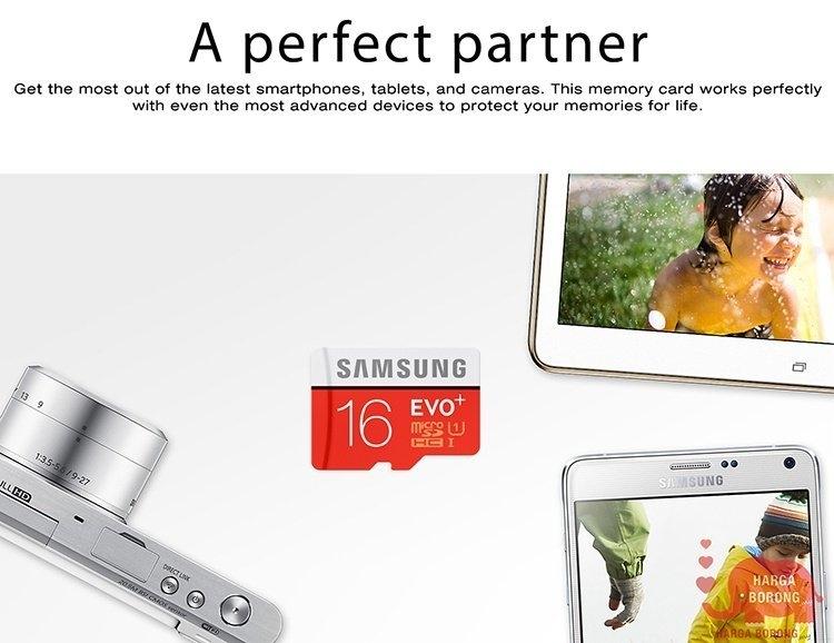Buy Samsung Samsung Evo Plus 16gb 80mb Class 10 Micro Sd Memory Card