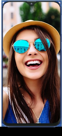 Selfie Focus Click - Samsung Galaxy M10