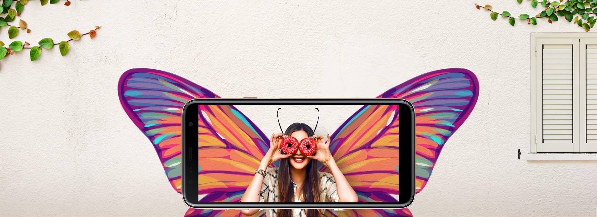 Infinity Display - Samsung Galaxy J4+