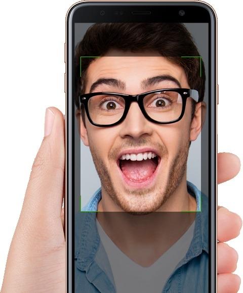 Facial Recognition - Samsung Galaxy J4+
