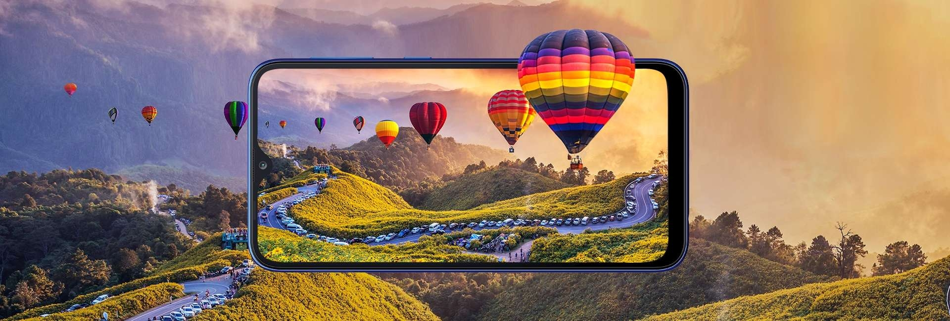 Infinity V Display + HD Resolution - Samsung Galaxy A10