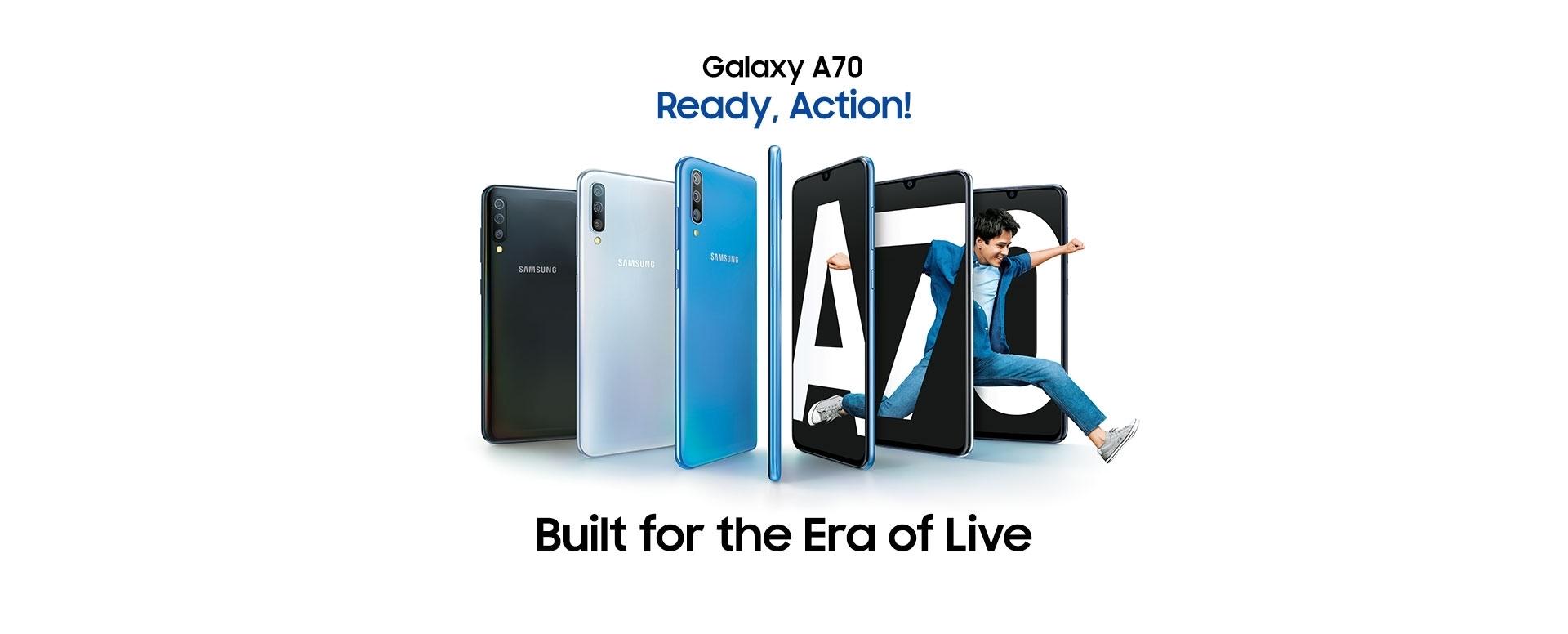 Latest Samsung Galaxy A70