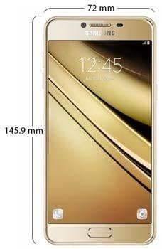 Samsung Galaxy C5 Dual Sim - Physical Features