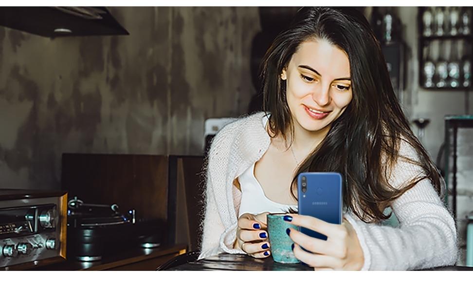 Samsung Galaxy M30 - Safer Smartphone