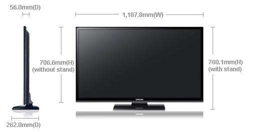 Dimension of PS51E470A1R
