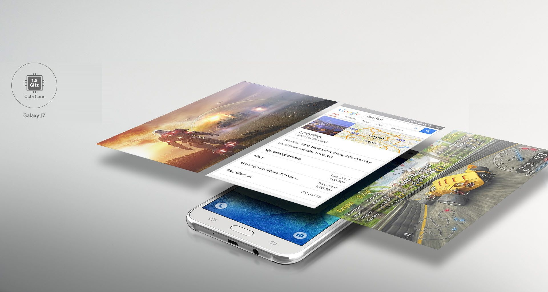 Galaxy J5 Smartphone Features