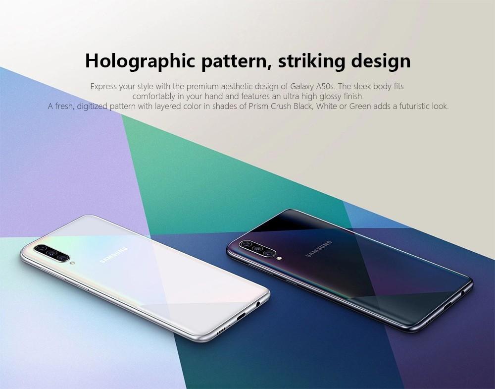 Samsung Galaxy A50s 4G Phablet 6GB RAM 128GB ROM- Black