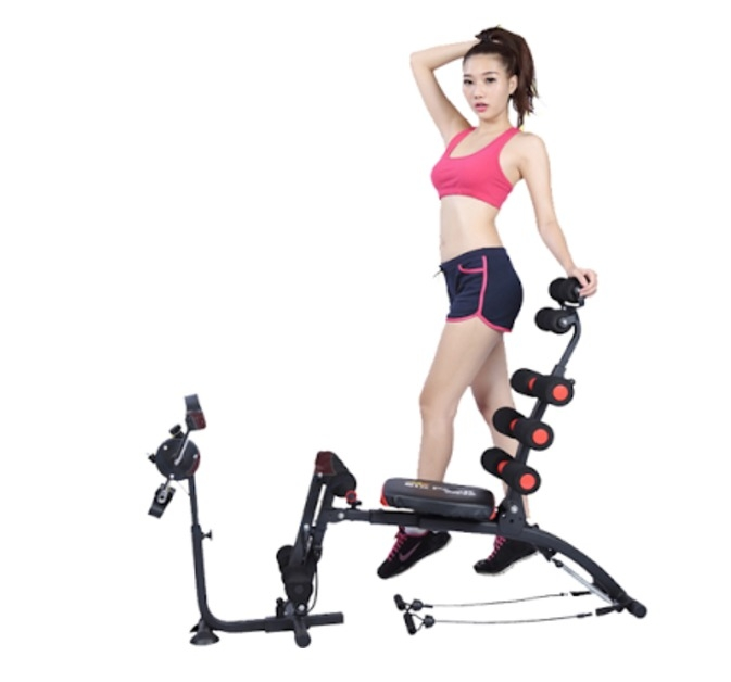 Six Pack Care ABS Fitness Machine with Pedals
