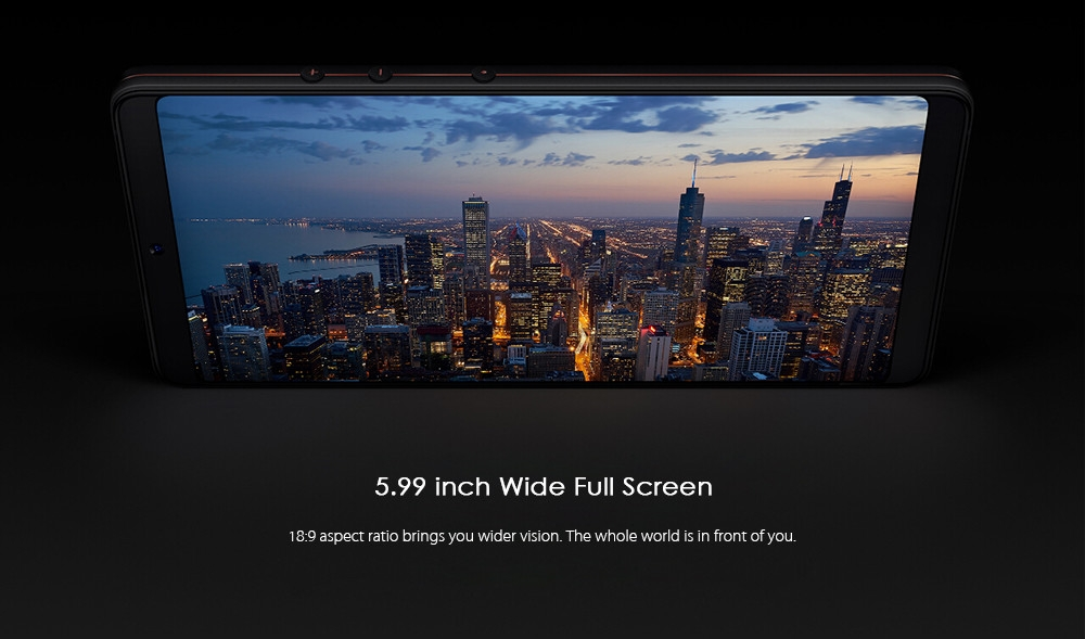 Smartisan U3 Nut Pro 2 4G Phablet 5.99 inch Android 7.1 Qualcomm Snapdragon 660 Octa Core 2.2GHz 6GB RAM 64GB ROM 12.0MP + 5.0MP Dual Rear Cameras
