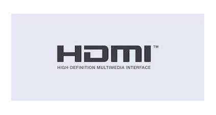 HDMI input for simple setup