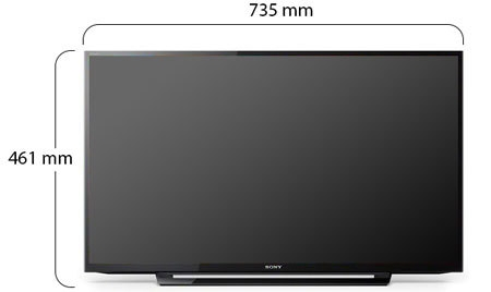 Sony Bravia 32 Inch LED Television - Physical Features