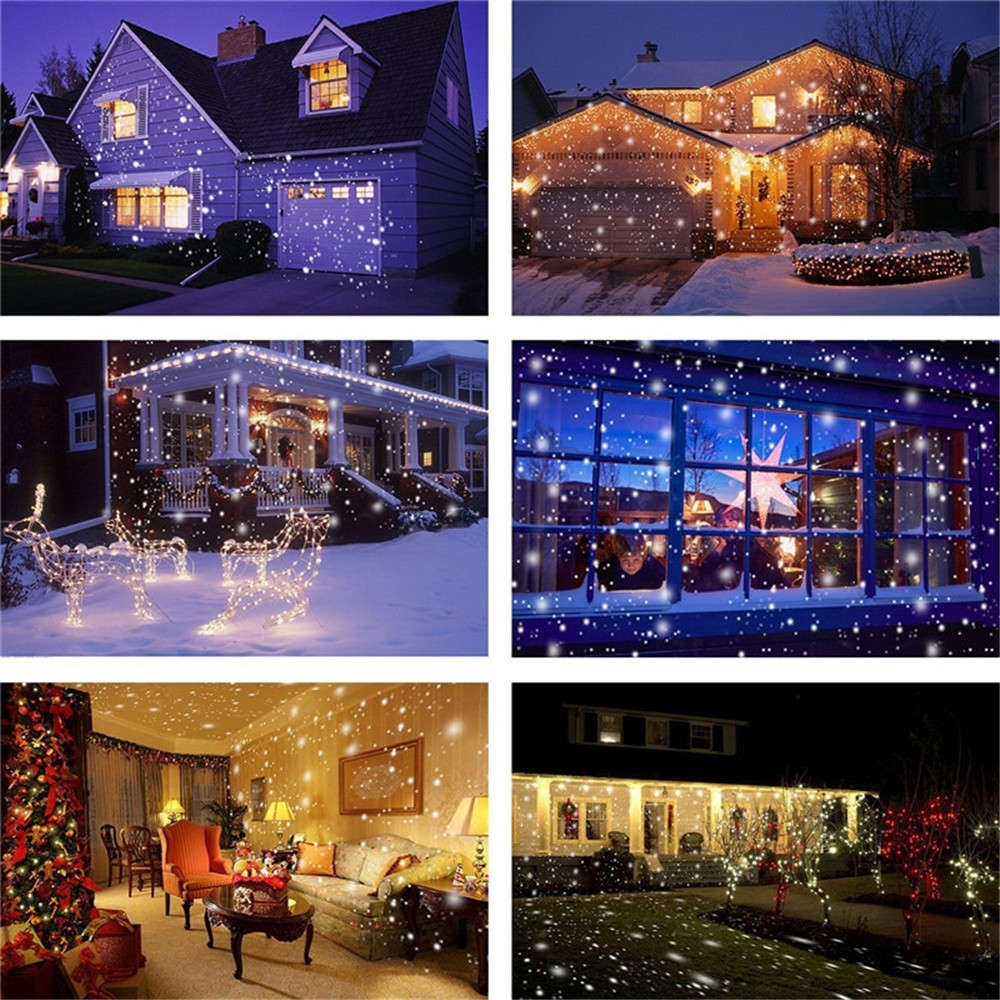 Christmas led snowfall waterproof projector light with wireless supli christmas led snowfall waterproof projector light with wireless remote controller for outdoor aloadofball Gallery