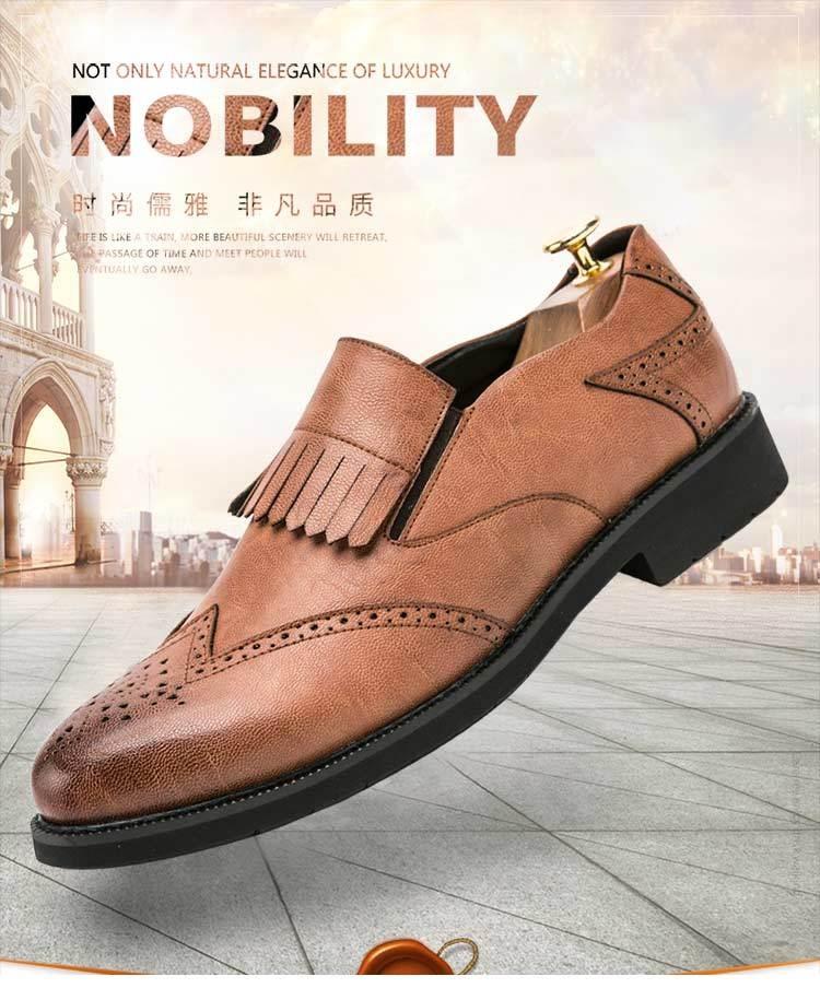 41a29680d8a2bb image image image image image image. Key Features. Gender  Men  Color  Black  Brown Gray  Upper Material  Genuine Leather  Business Loafers  Formal Men  Shose