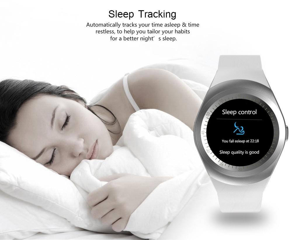 TenFifteen RX9 Smartwatch Phone 1.2 inch MTK6261 Sedentary Reminder Pedometer Sound Recorder Sleep Monitoring
