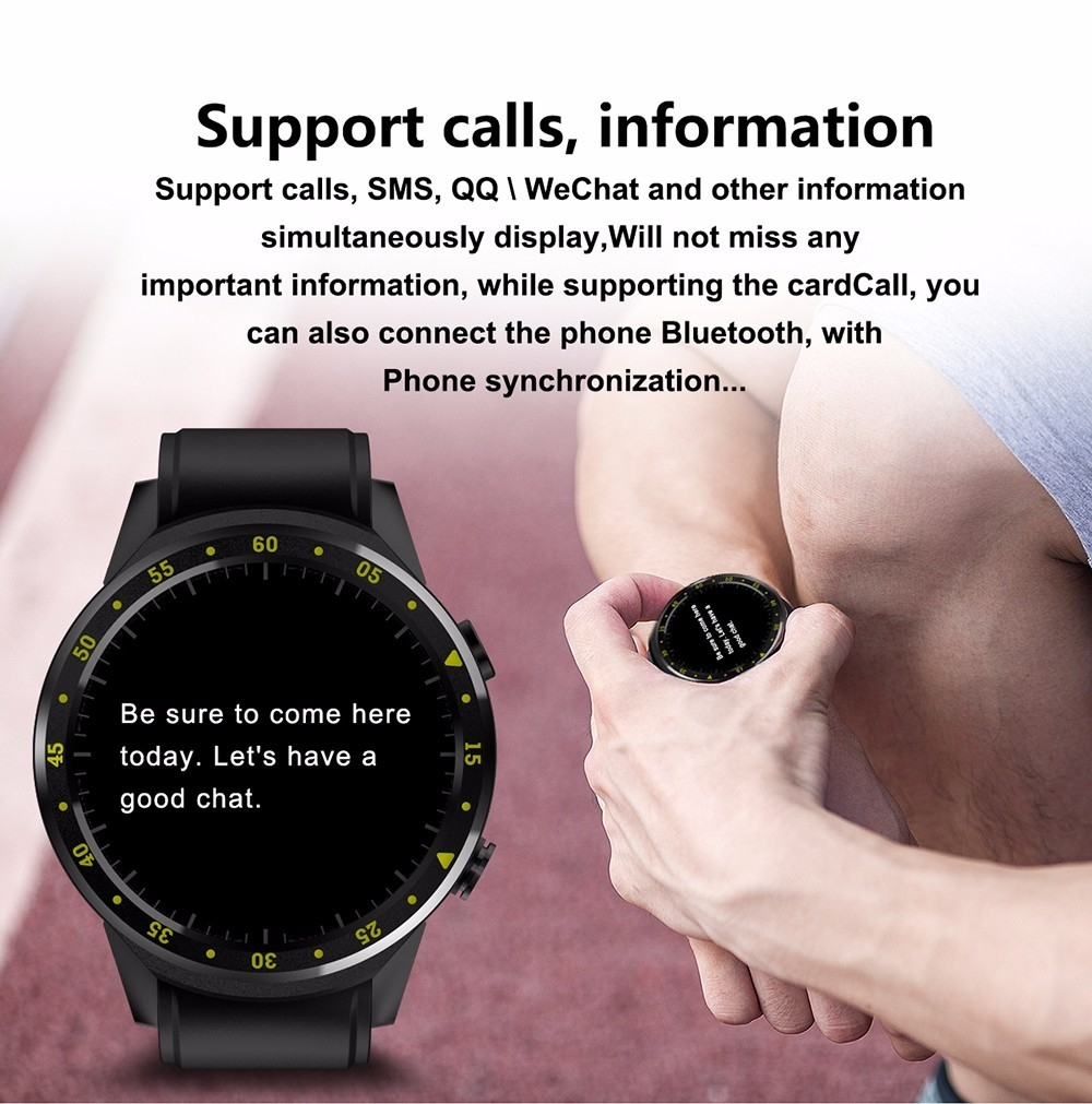 TenFifteen F1 Sports Smartwatch Phone 1.3 inch MTK2503 Dual Bluetooth GPS Beidou Camera Heart Rate / Sleep Monitor