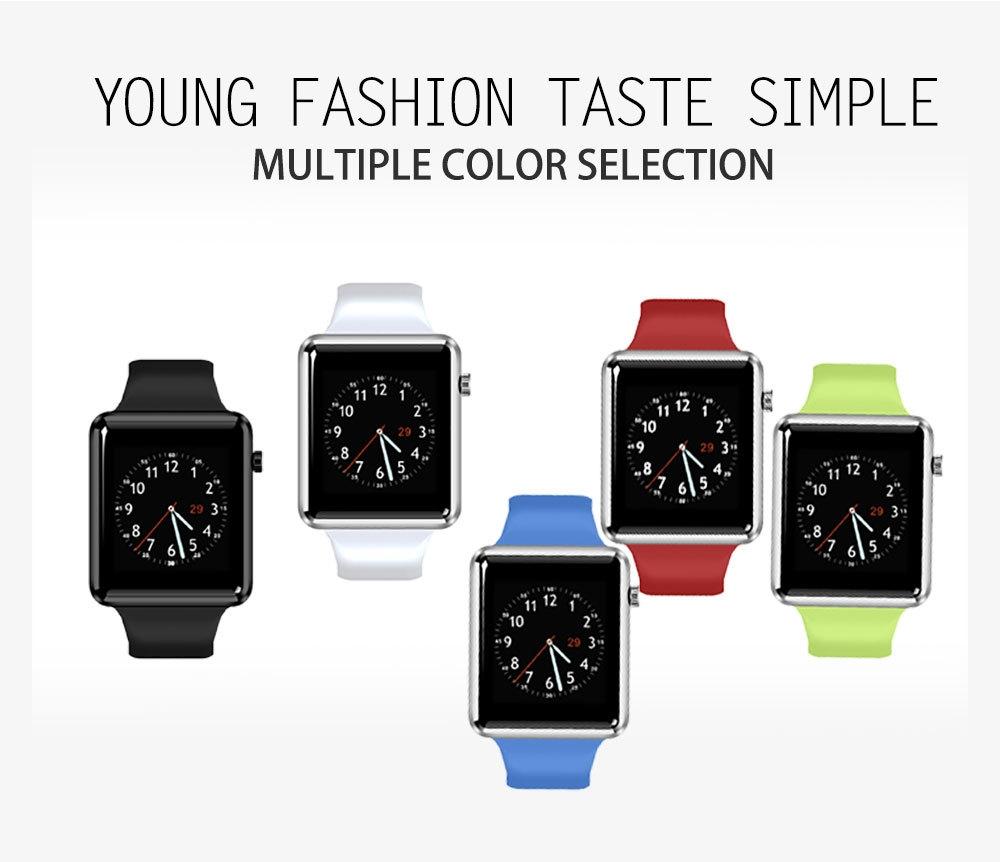 TenFifteen A12 1.54 inch Smartwatch Phone MTK6261 Sedentary Reminder Pedometer Gravity Sensor Alarm Clock