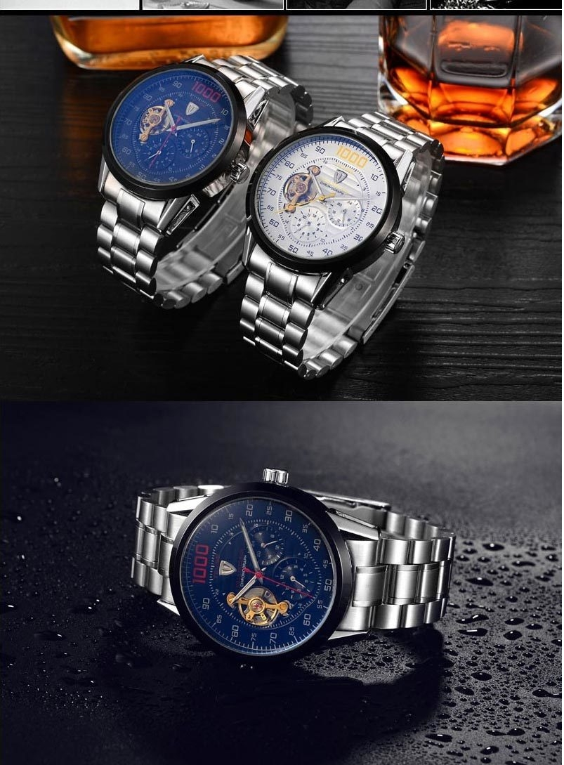 ... TEVISE-Mens-Watches-Luxu-07 ...