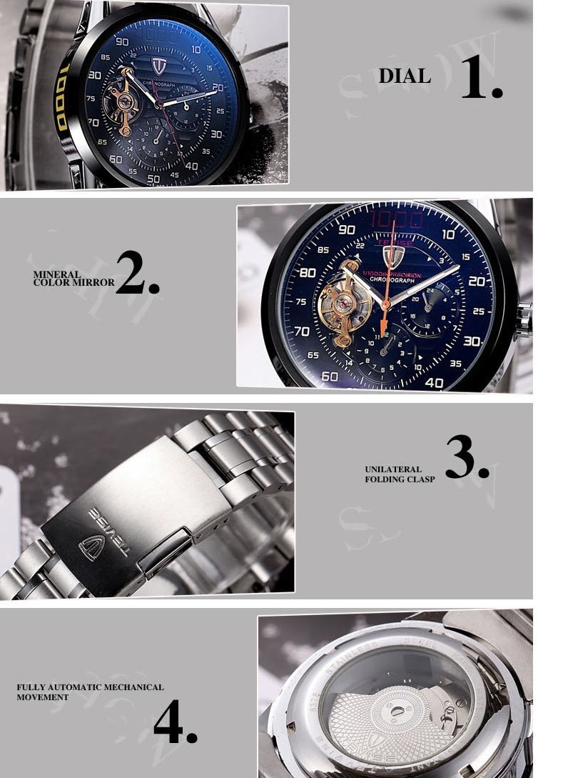 ... TEVISE-Mens-Watches-Luxu-04 ...