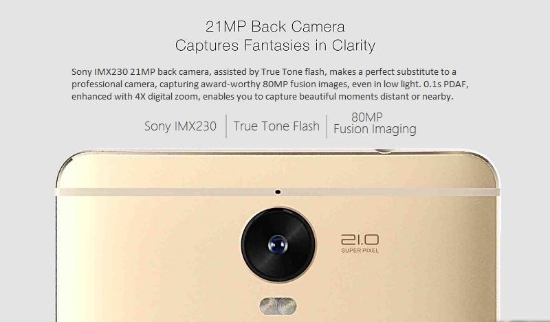 Tecno Phantom 6 Plus camera specification specs review