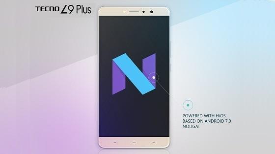 TECNO L9 Plus Android 7 Nougat
