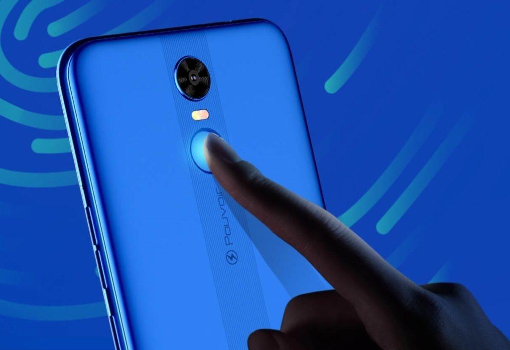 Tecno Pouvoir 3 Camera and fingerprint