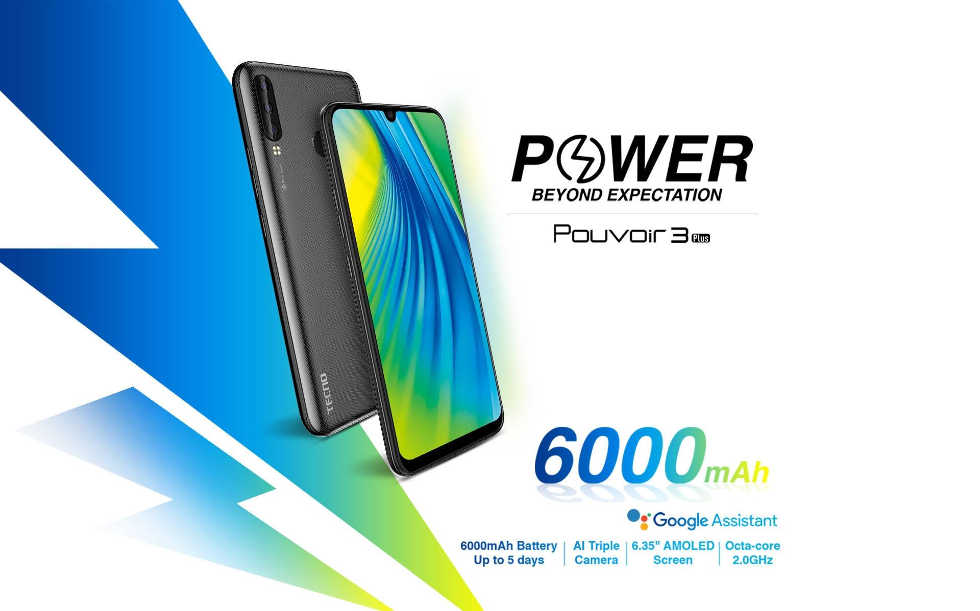 Tecno Pouvoir 3 LB7 best price in kenya