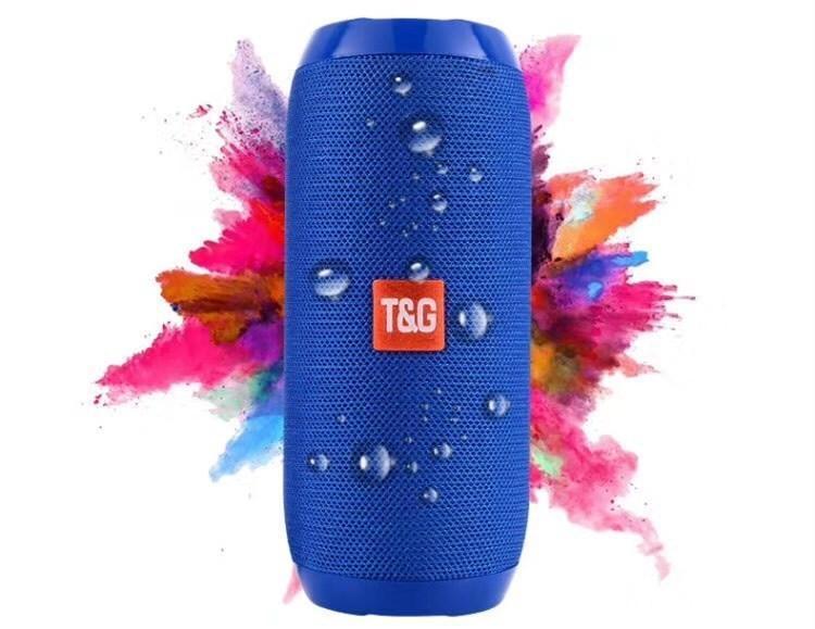 T&G TG117 Super Bass SplashProof subwoofer Wireless Bluetooth Speaker Bluetooth Accessories black one size 4