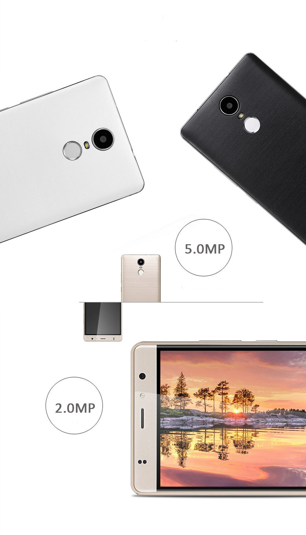 Timmy M20 PRO 5 5 inch Android 6 0 4G Phablet MT6737 Quad