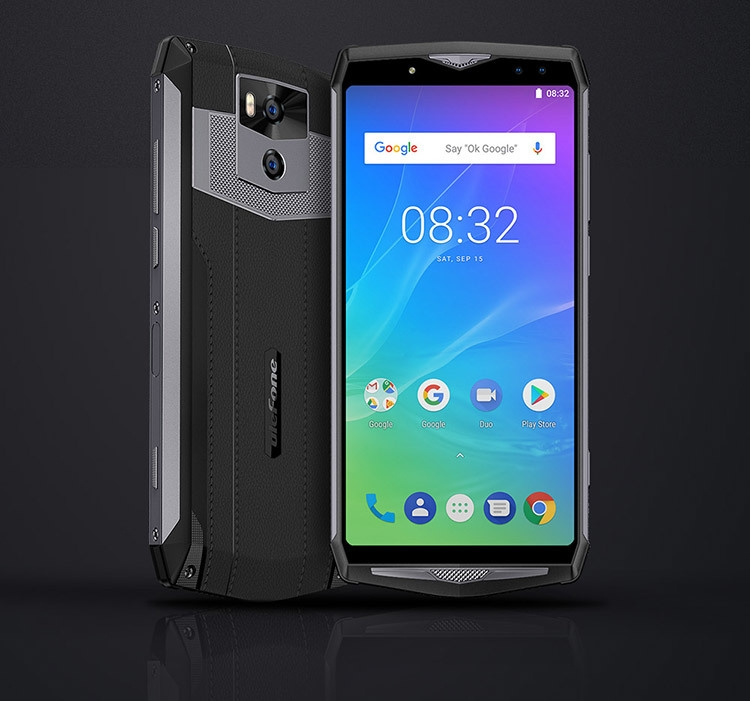 ULEFONE POWER 5S 4GB RAM 64GB ROM MTK6763 2.0GHz Octa Core 6.0 Inch Incell FHD+ Screen Quad Camera 13000mAh Android 8.1 4G LTE Smartphone