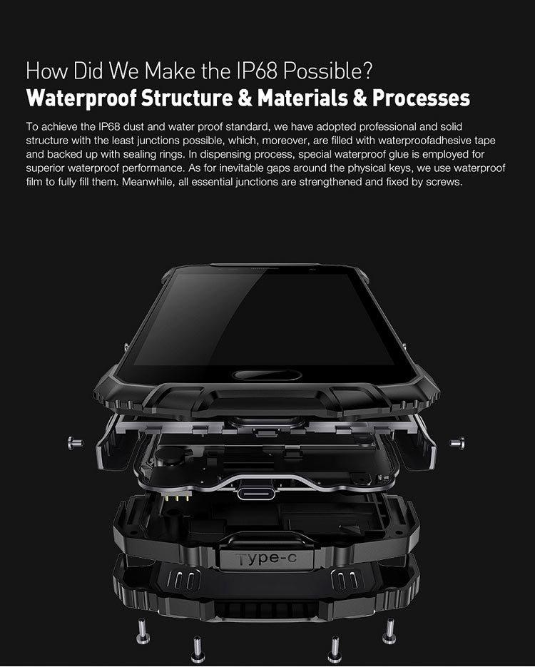 ULEFONE ARMOR 2 6GB RAM 64GB ROM Helio P25 MTK6757CD 2.6GHz Octa Core 5.0 Inch Corning Gorilla Glass Sharp FHD Screen IP68 Waterproof Android 7.0 4G LTE Smartphone