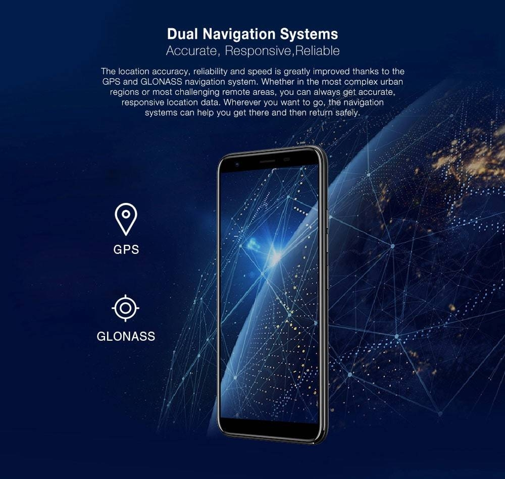 Ulefone S9 Pro 4G Phablet 5.5 inch Android 8.1 MTK6739 Quad Core 1.3GHz 2GB RAM 16GB ROM 13.0MP + 5.0MP Rear Camera Fingerprint Sensor 3300mAh Built-in- Gold