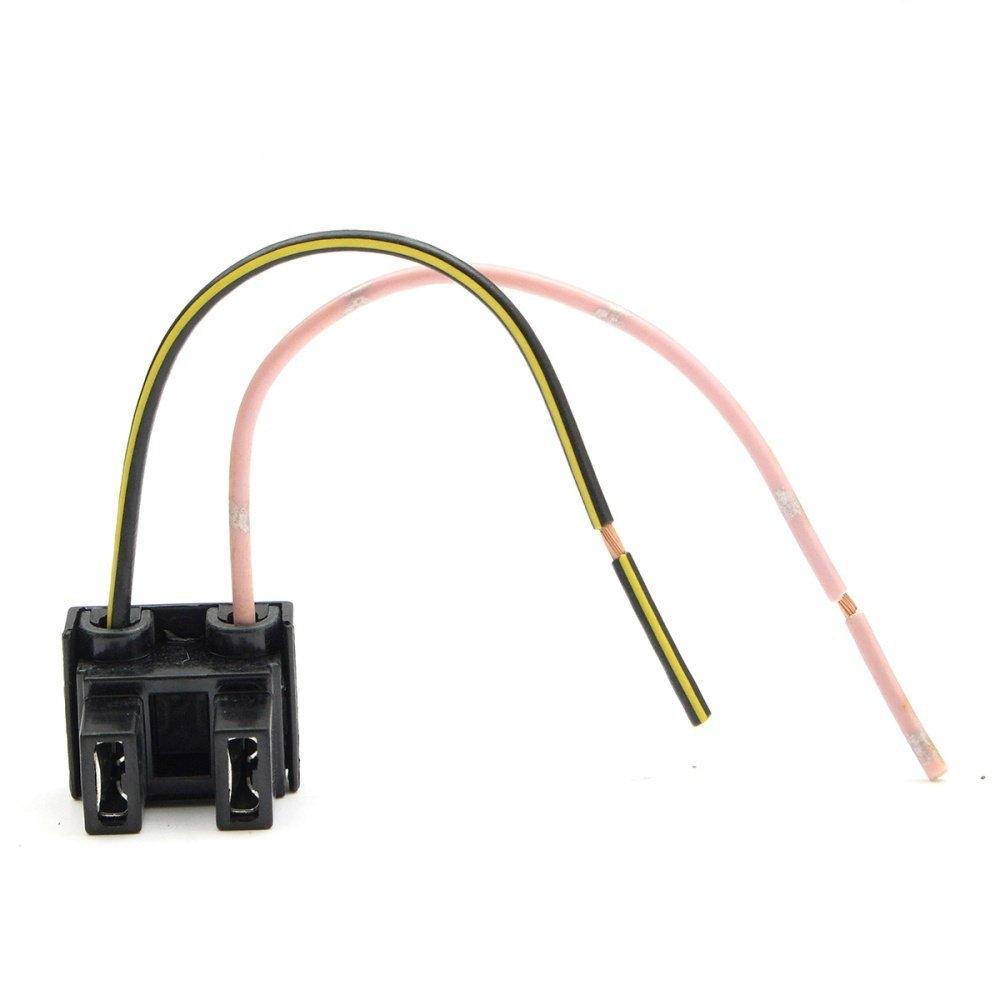 Buy Universal 2 Pin H7 Headlight Xeon Bulb Connector Plug Wiring Harness Socket Adapter New