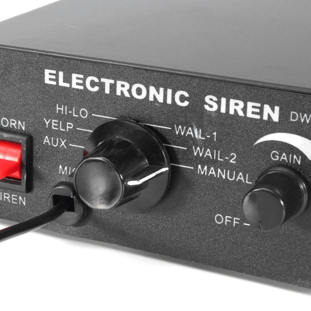 Buy Universal 100w 12v Car Truck Alarm Police Loud Speaker Pa Siren Electronic 1 Image