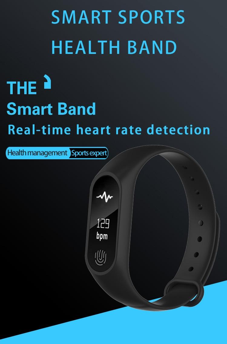 Generic Professional M2 Smart Wristband Fitness Heart Rate Monitor