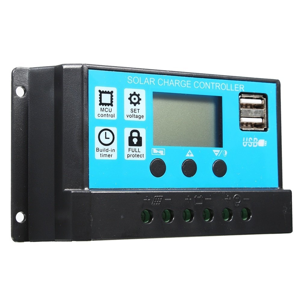 Buy Universal 10 20 30a 12 24v Lcd Pmw Solar Charge Controller 12volttimercircuitjpg Image