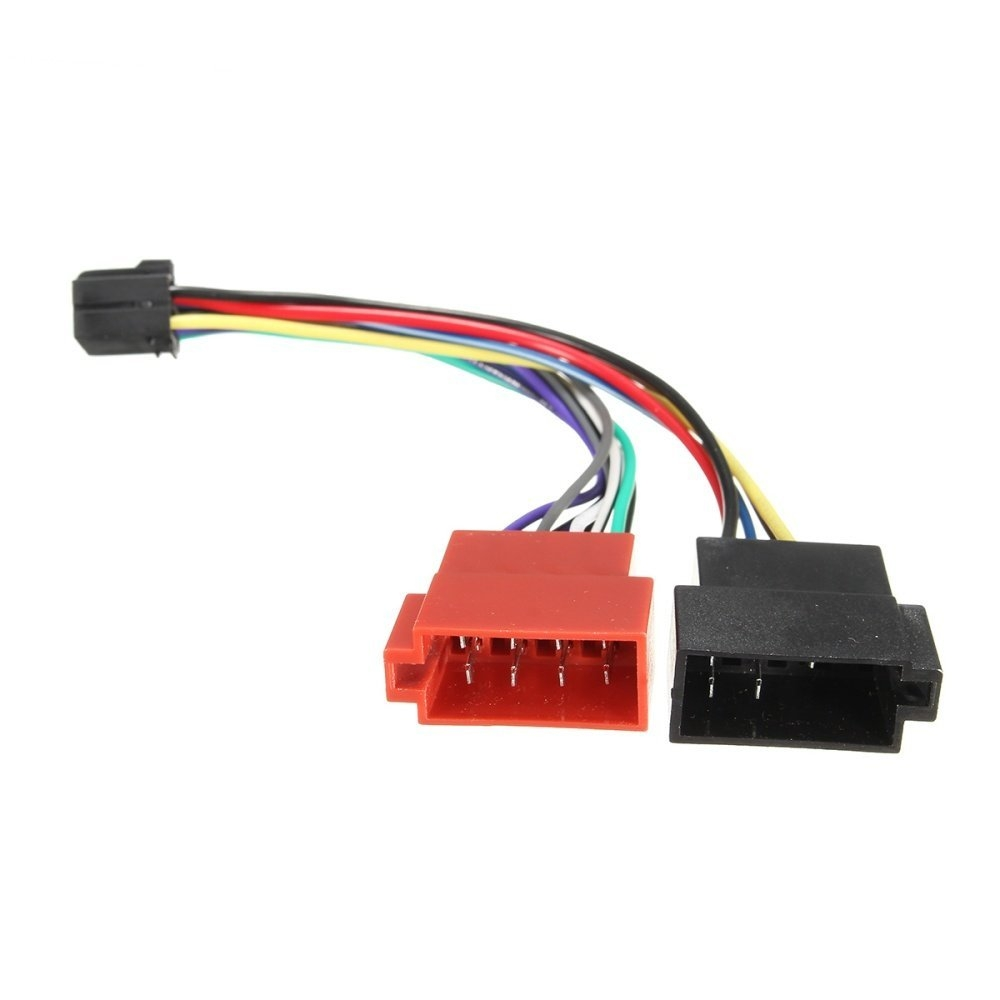 Buy UNIVERSAL Car Stereo Radio ISO Wiring Harness Connector Cable ...
