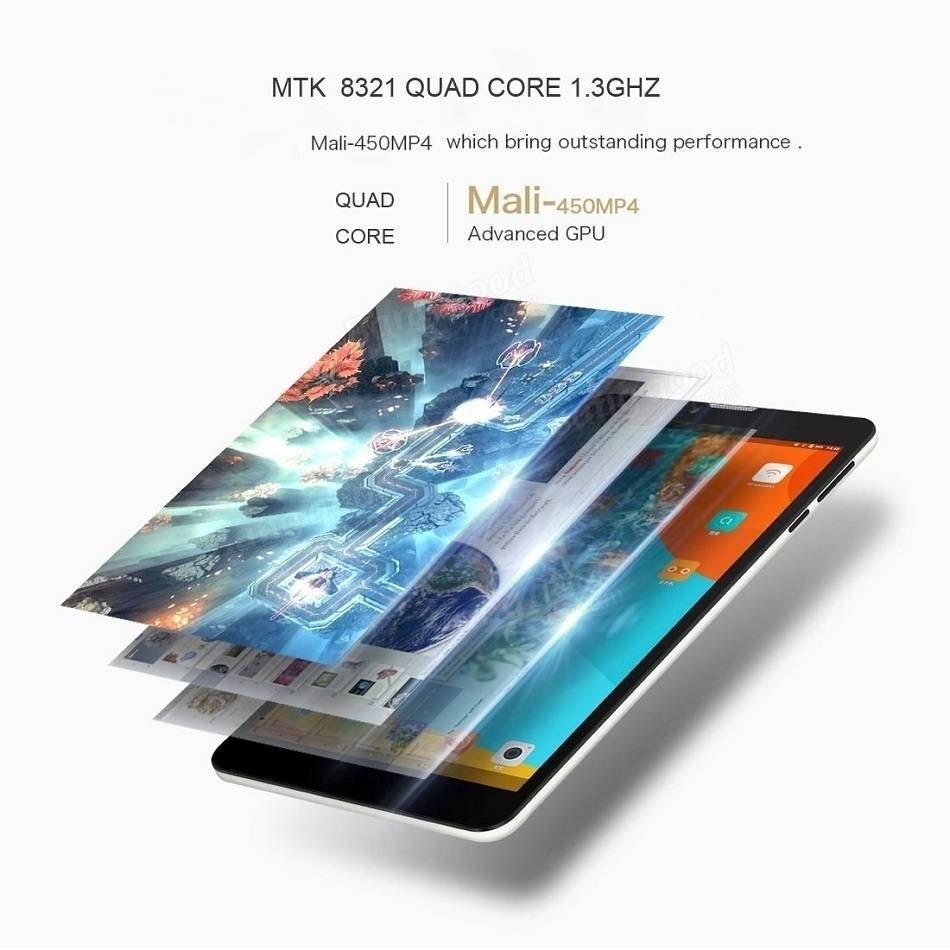 Box Binai X7 3G 8GB MTK8321 Quad Core 7 Inch Android 6.0 Phone Tablet